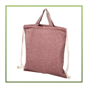 Recycelte 2-in-1 Tasche rot